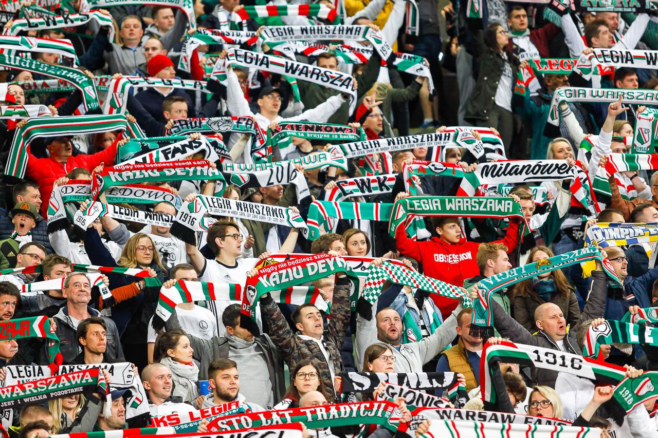 Legia Warszawa 0-1 Piast Gliwice - fot. Piotr Galas (zdjęcie 47 z 72)