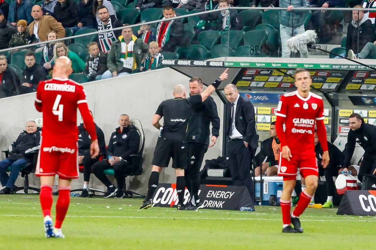 Legia Warszawa 0-1 Piast Gliwice - fot. Piotr Galas (zdjęcie 49 z 72)