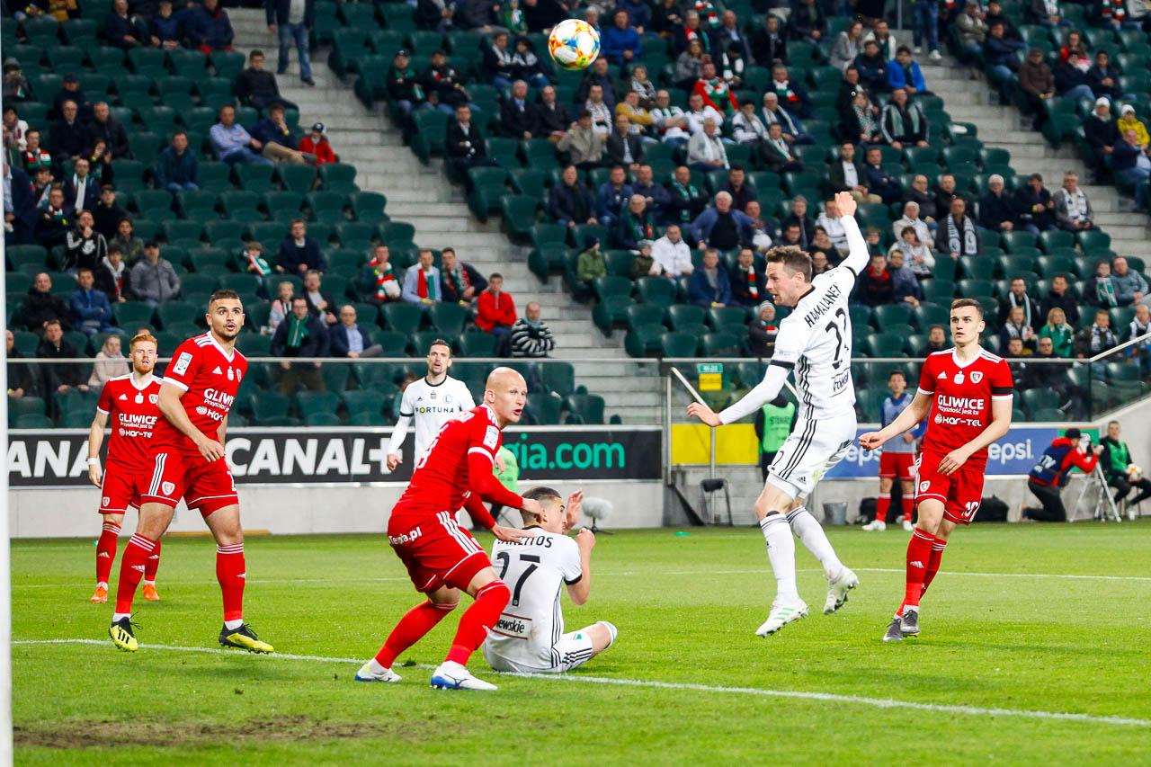 Legia Warszawa 0-1 Piast Gliwice - fot. Piotr Galas (zdjęcie 53 z 72)