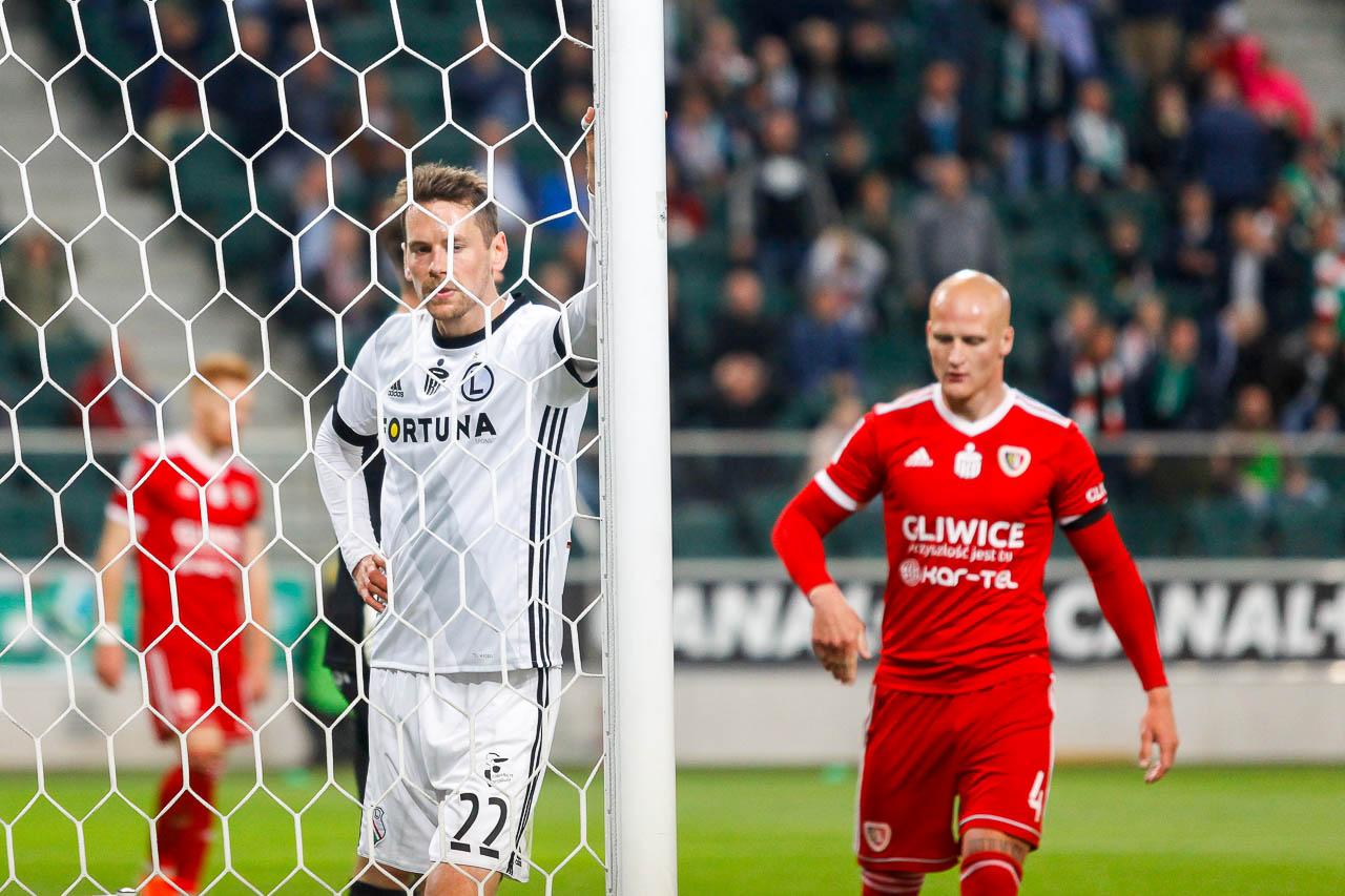 Legia Warszawa 0-1 Piast Gliwice - fot. Piotr Galas (zdjęcie 55 z 72)