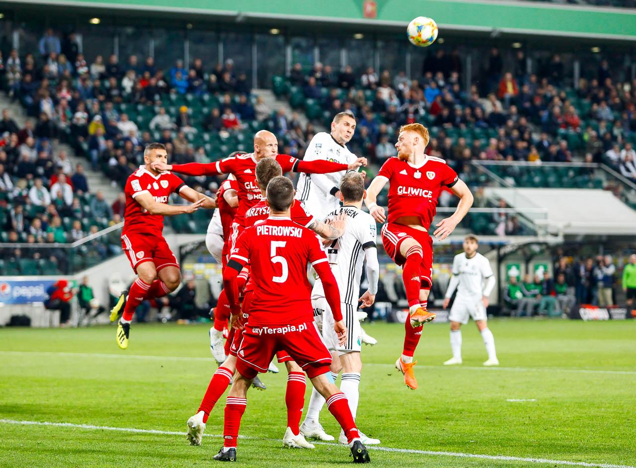 Legia Warszawa 0-1 Piast Gliwice - fot. Piotr Galas (zdjęcie 56 z 72)