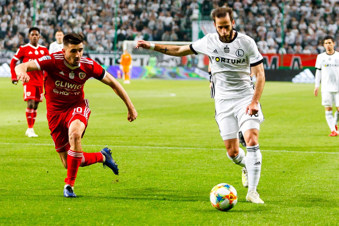 Legia Warszawa 0-1 Piast Gliwice - fot. Piotr Galas (zdjęcie 58 z 72)