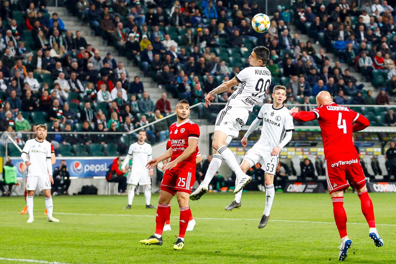Legia Warszawa 0-1 Piast Gliwice - fot. Piotr Galas (zdjęcie 61 z 72)