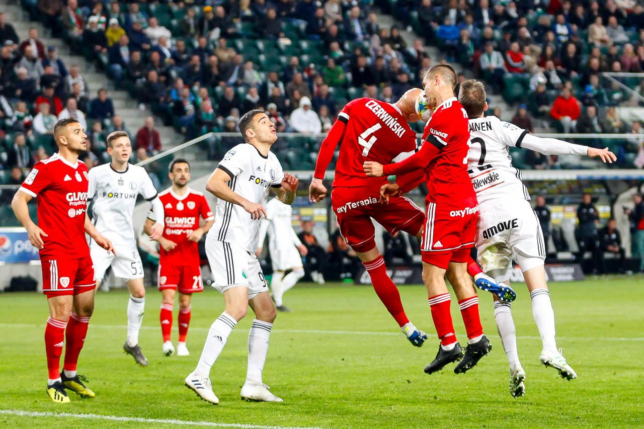 Legia Warszawa 0-1 Piast Gliwice - fot. Piotr Galas (zdjęcie 62 z 72)