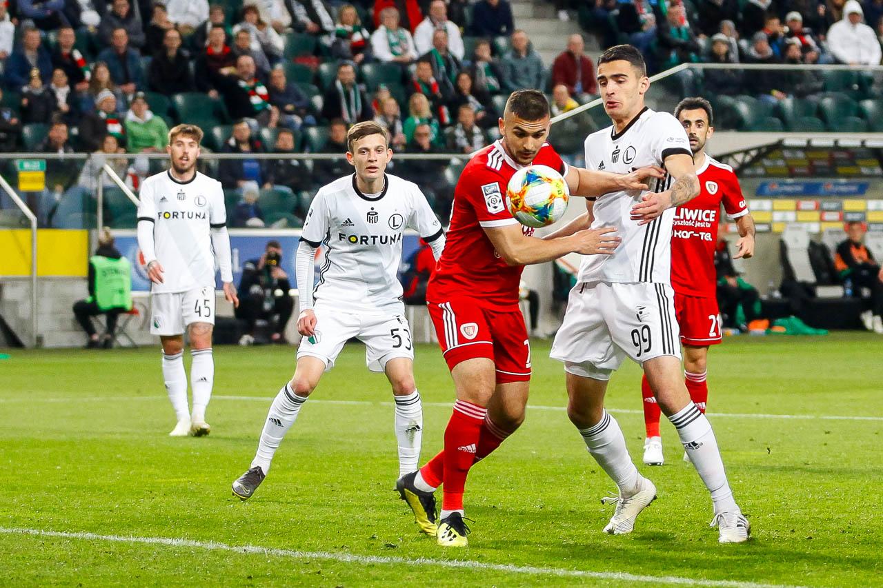 Legia Warszawa 0-1 Piast Gliwice - fot. Piotr Galas (zdjęcie 63 z 72)
