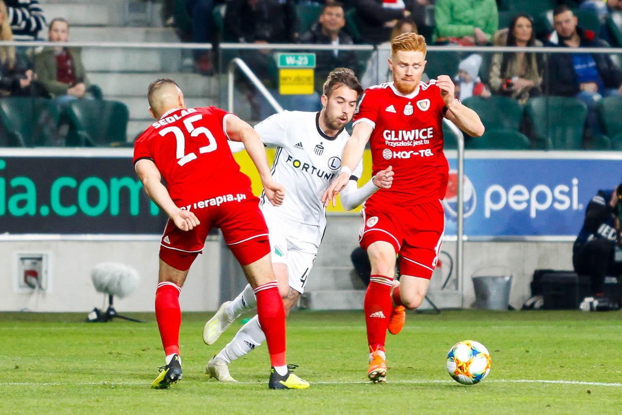 Legia Warszawa 0-1 Piast Gliwice - fot. Piotr Galas (zdjęcie 64 z 72)