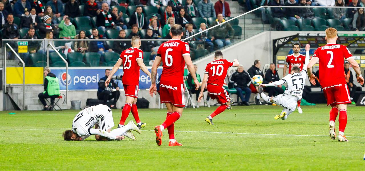 Legia Warszawa 0-1 Piast Gliwice - fot. Piotr Galas (zdjęcie 65 z 72)