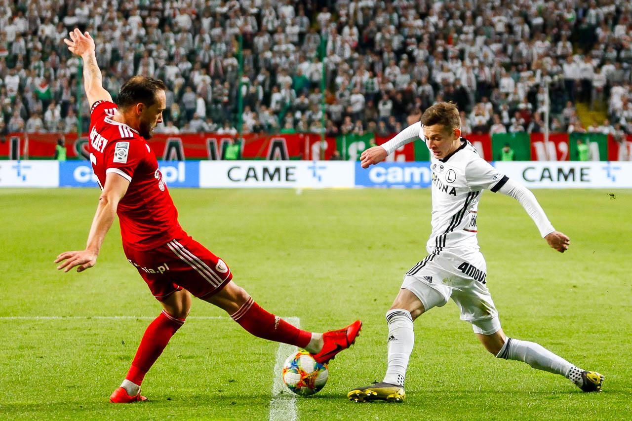 Legia Warszawa 0-1 Piast Gliwice - fot. Piotr Galas (zdjęcie 67 z 72)
