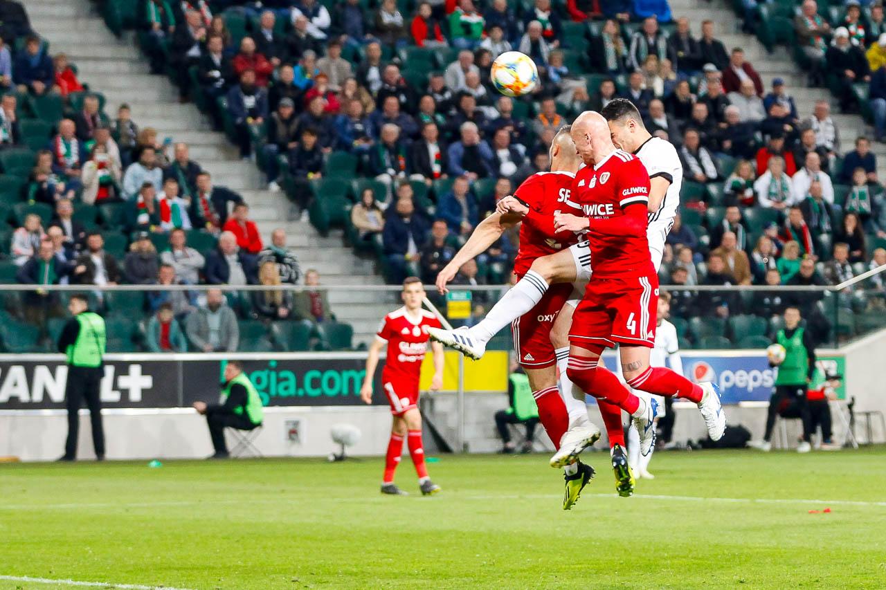 Legia Warszawa 0-1 Piast Gliwice - fot. Piotr Galas (zdjęcie 68 z 72)