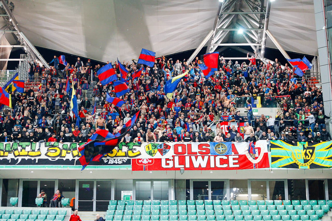 Legia Warszawa 0-1 Piast Gliwice - fot. Piotr Galas (zdjęcie 70 z 72)