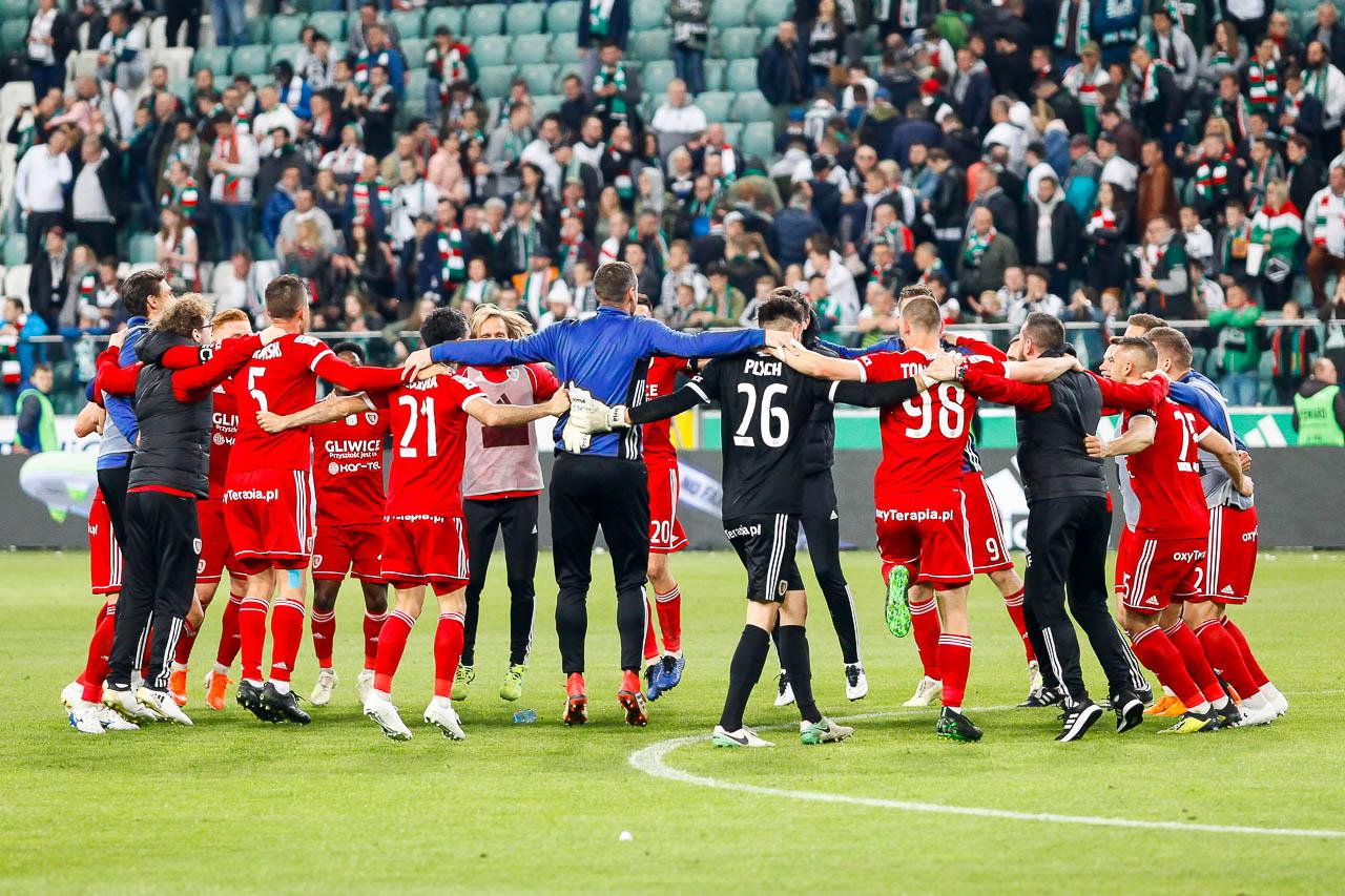 Legia Warszawa 0-1 Piast Gliwice - fot. Piotr Galas (zdjęcie 71 z 72)