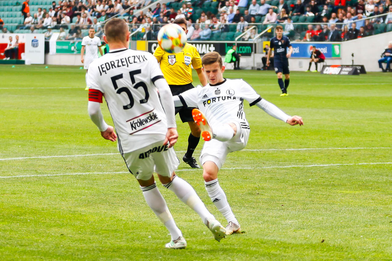Legia Warszawa 1-1 Pogoń Szczecin - fot. Piotr Galas (zdjęcie 16 z 96)