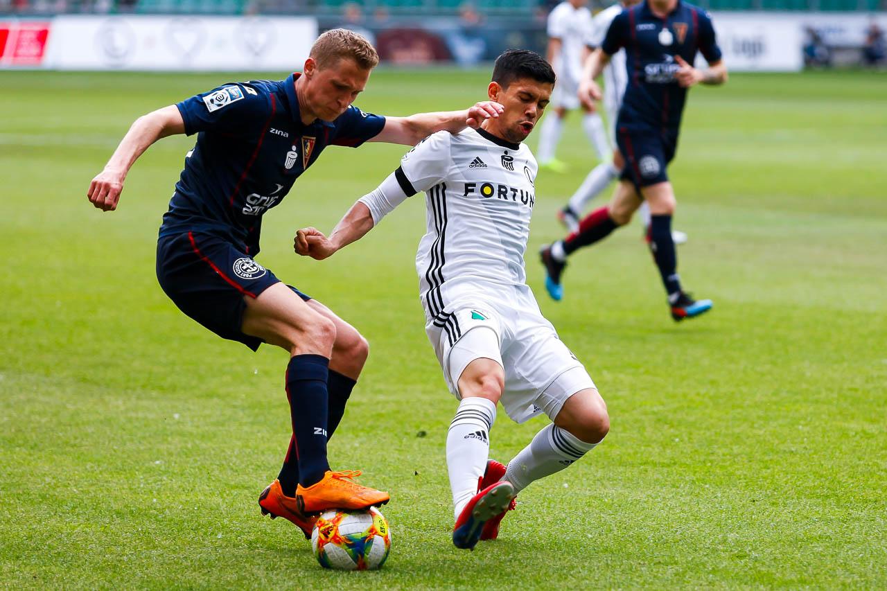 Legia Warszawa 1-1 Pogoń Szczecin - fot. Piotr Galas (zdjęcie 19 z 96)