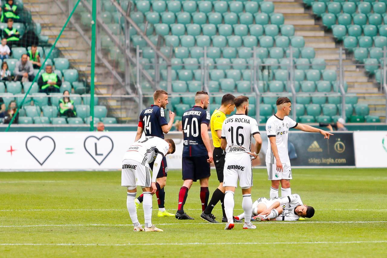 Legia Warszawa 1-1 Pogoń Szczecin - fot. Piotr Galas (zdjęcie 32 z 96)