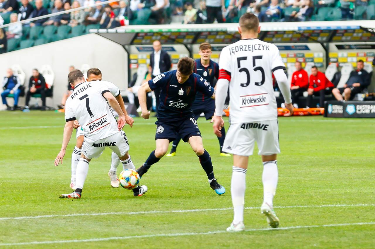 Legia Warszawa 1-1 Pogoń Szczecin - fot. Piotr Galas (zdjęcie 34 z 96)