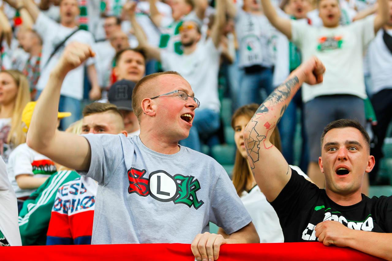 Legia Warszawa 1-1 Pogoń Szczecin - fot. Piotr Galas (zdjęcie 65 z 96)