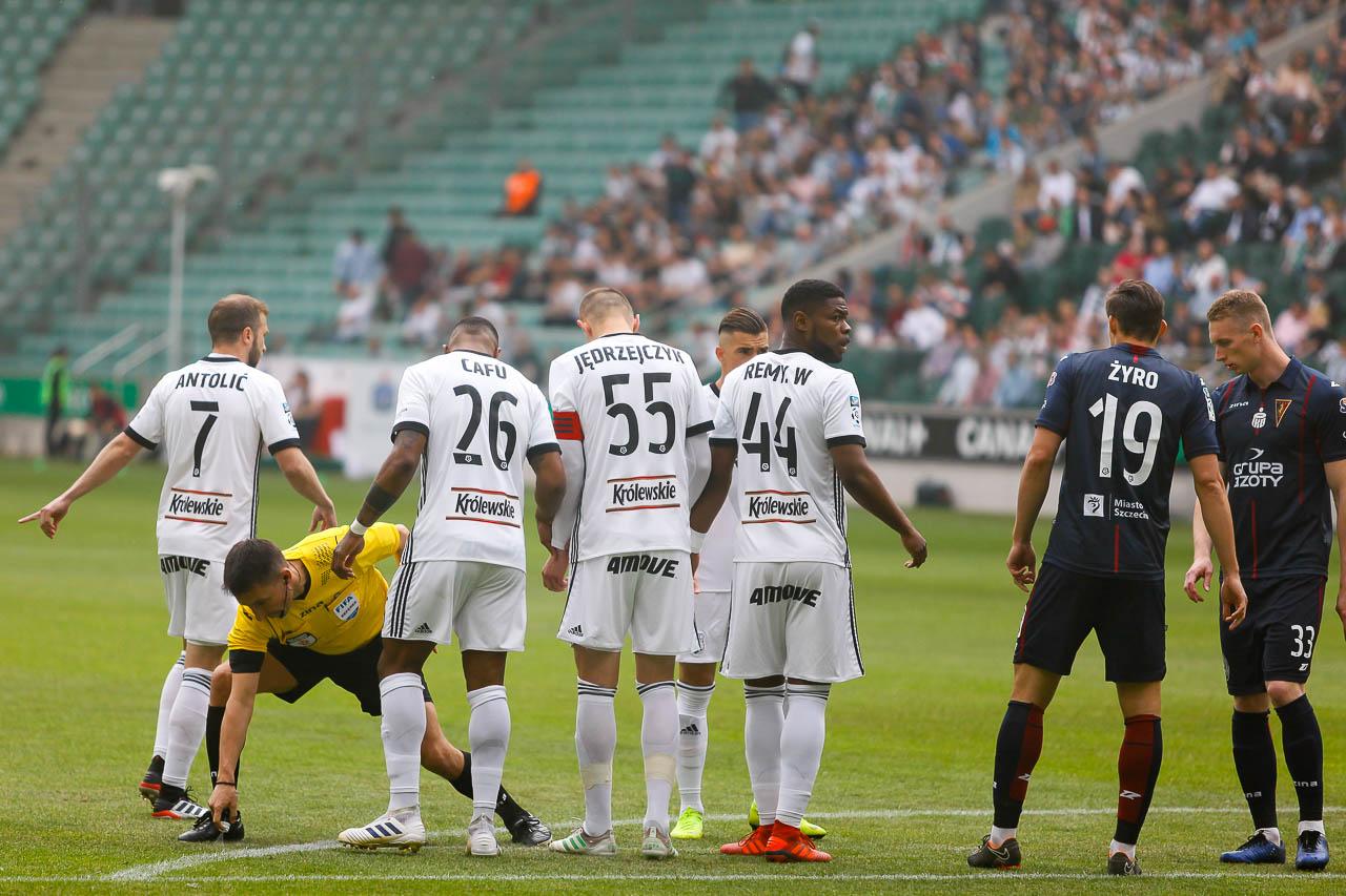 Legia Warszawa 1-1 Pogoń Szczecin - fot. Piotr Galas (zdjęcie 7 z 96)
