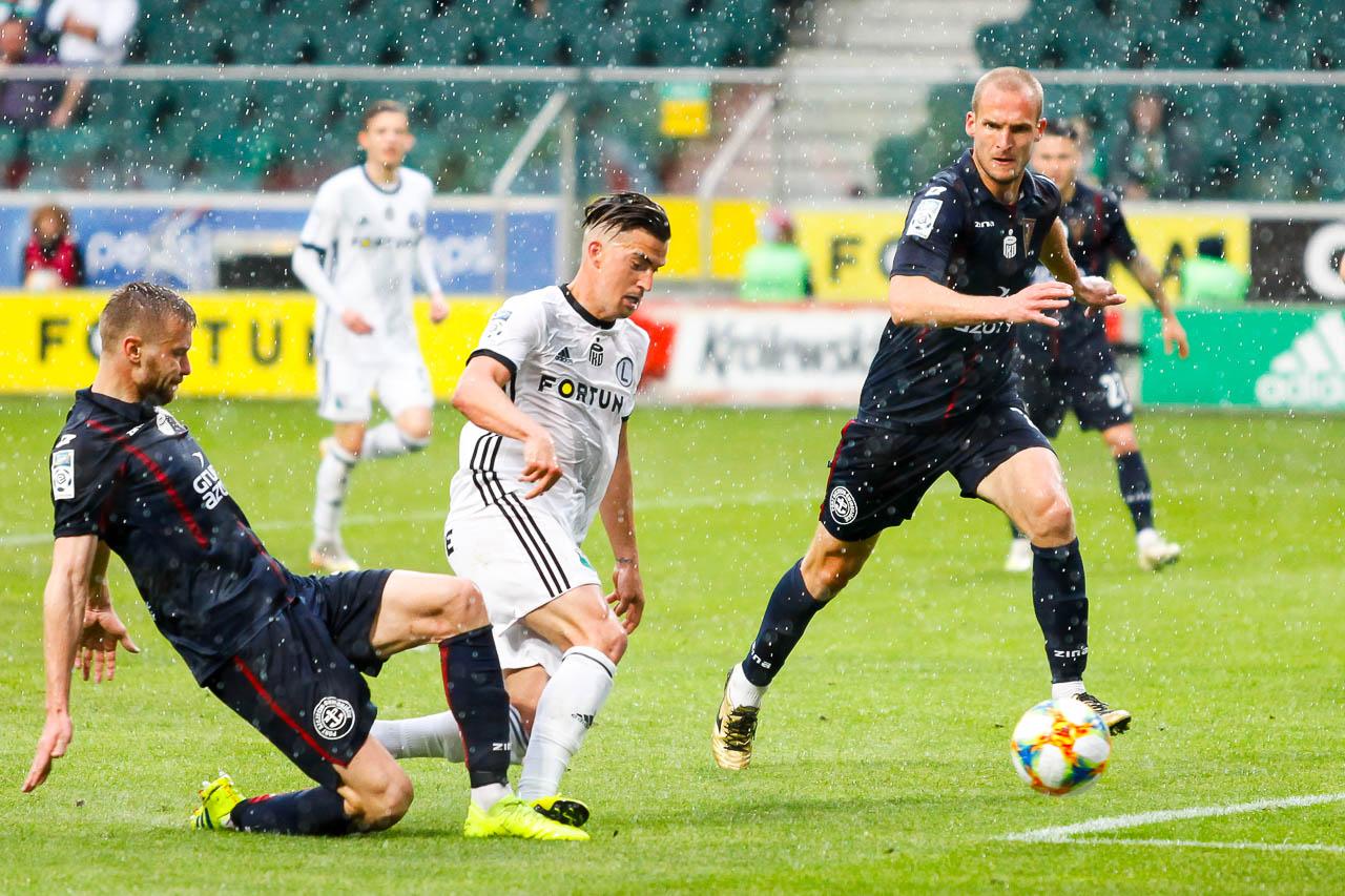 Legia Warszawa 1-1 Pogoń Szczecin - fot. Piotr Galas (zdjęcie 72 z 96)