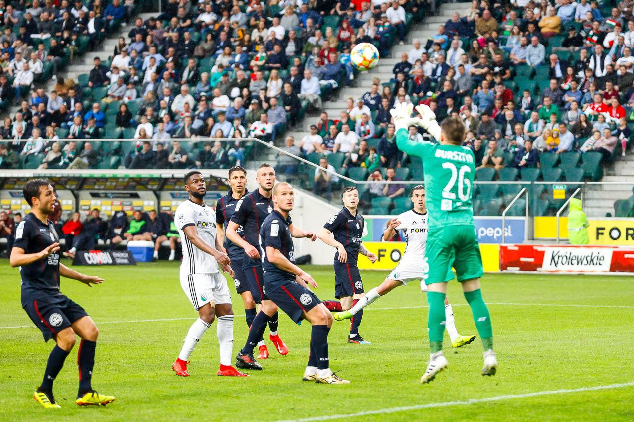 Legia Warszawa 1-1 Pogoń Szczecin - fot. Piotr Galas (zdjęcie 81 z 96)