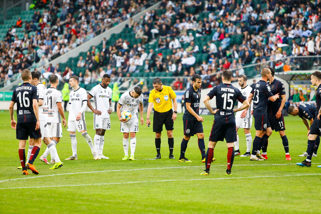 Legia Warszawa 1-1 Pogoń Szczecin - fot. Piotr Galas (zdjęcie 85 z 96)