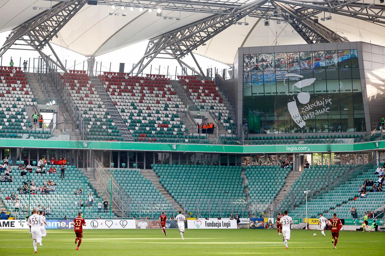 Legia Warszawa 2-2 Zagłębie Lubin - fot. Piotr Galas (zdjęcie 26 z 113)