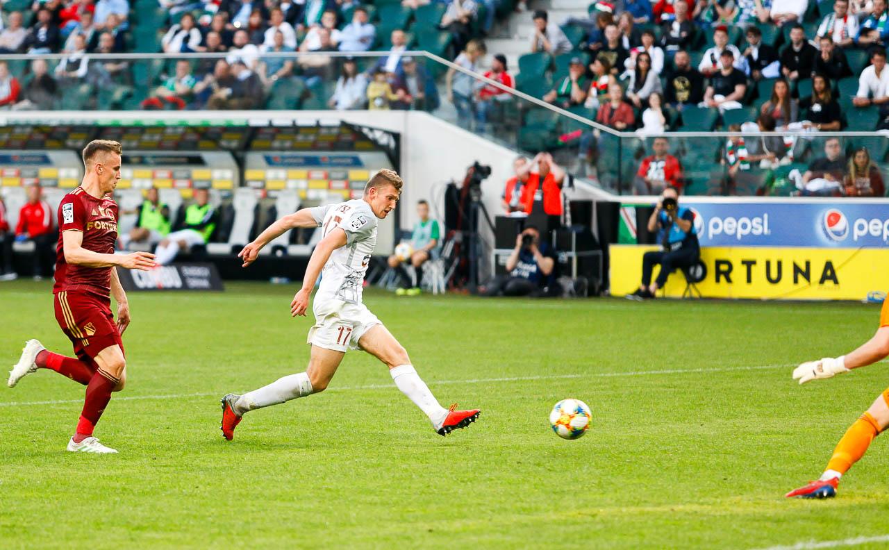 Legia Warszawa 2-2 Zagłębie Lubin - fot. Piotr Galas (zdjęcie 66 z 113)