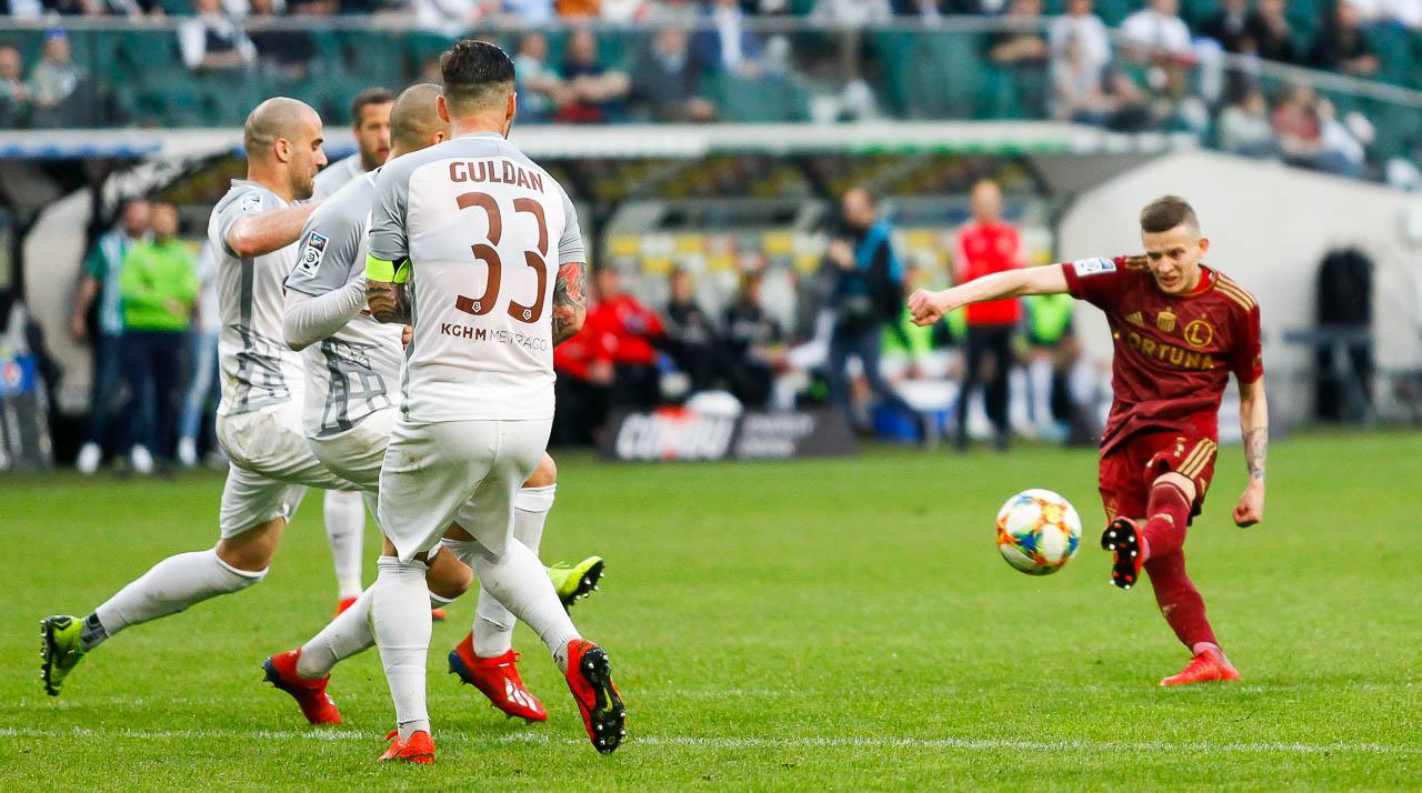 Legia Warszawa 2-2 Zagłębie Lubin - fot. Piotr Galas (zdjęcie 80 z 113)