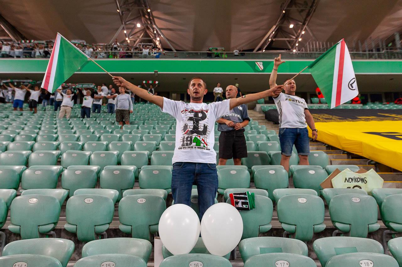 Legia Warszawa 0-0 Atromitos Ateny - fot. Piotr Galas (zdjęcie 2 z 74)