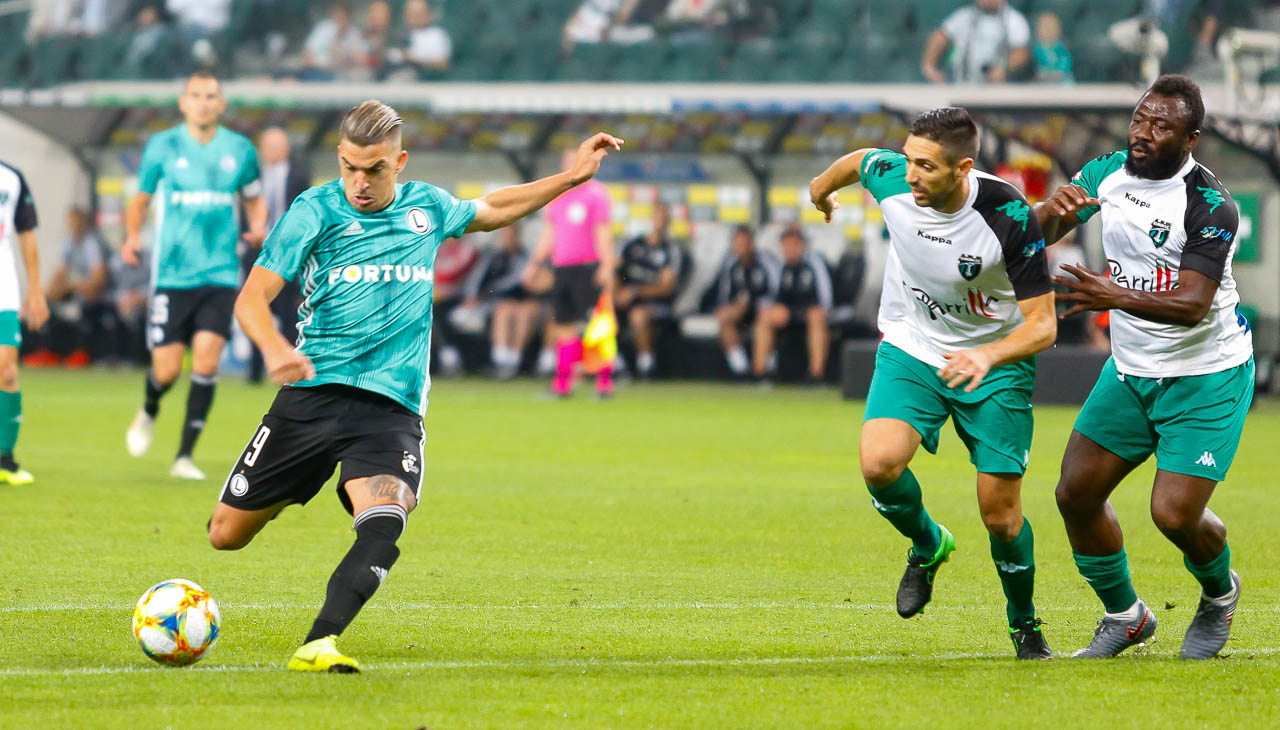 Legia Warszawa 3-0 Europa FC - fot. Piotr Galas (zdjęcie 20 z 73)