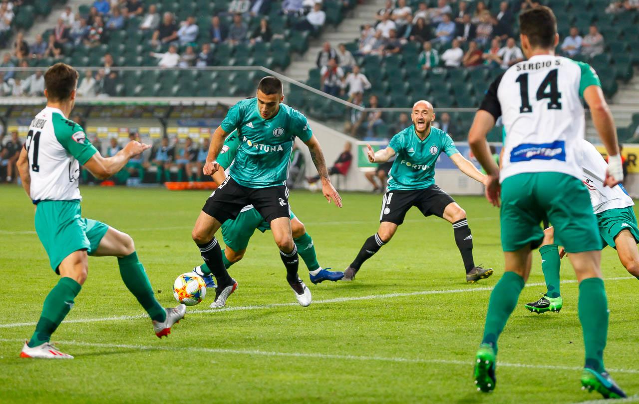 Legia Warszawa 3-0 Europa FC - fot. Piotr Galas (zdjęcie 23 z 73)