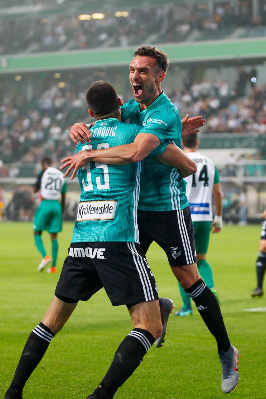 Legia Warszawa 3-0 Europa FC - fot. Piotr Galas (zdjęcie 24 z 73)