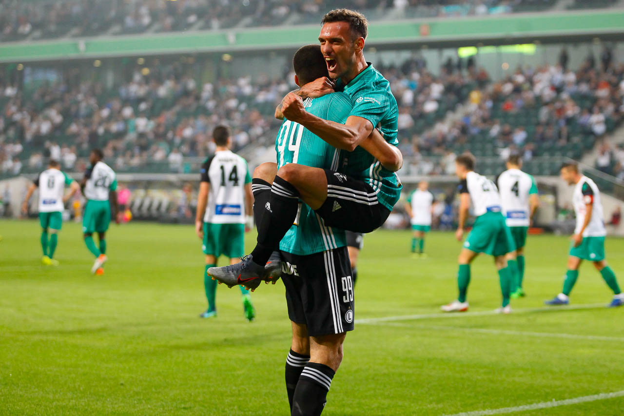 Legia Warszawa 3-0 Europa FC - fot. Piotr Galas (zdjęcie 26 z 73)