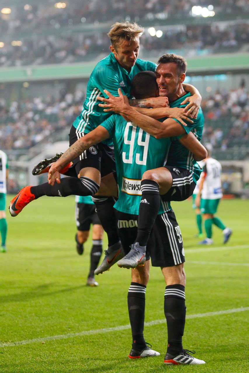 Legia Warszawa 3-0 Europa FC - fot. Piotr Galas (zdjęcie 27 z 73)