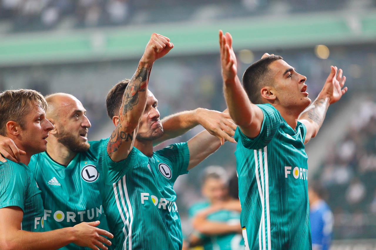 Legia Warszawa 3-0 Europa FC - fot. Piotr Galas (zdjęcie 28 z 73)
