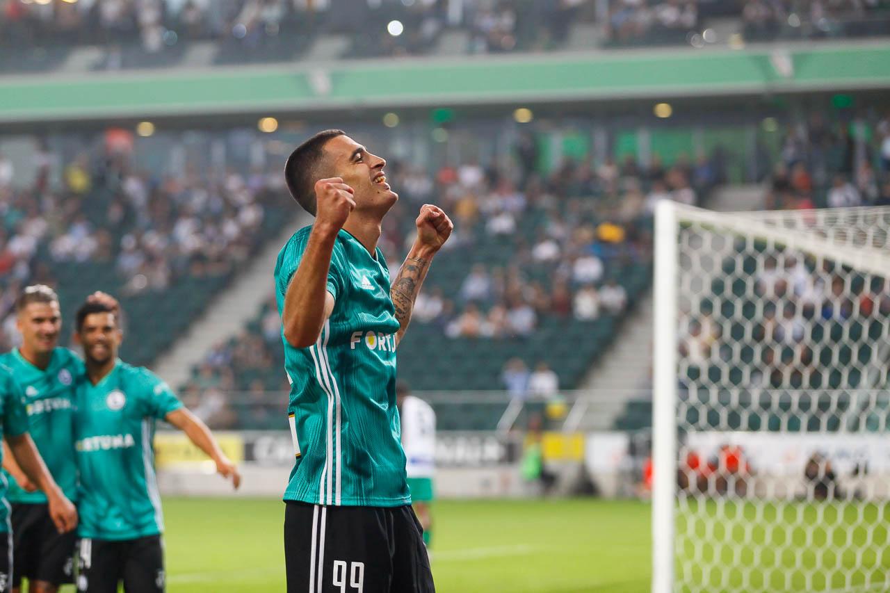 Legia Warszawa 3-0 Europa FC - fot. Piotr Galas (zdjęcie 29 z 73)
