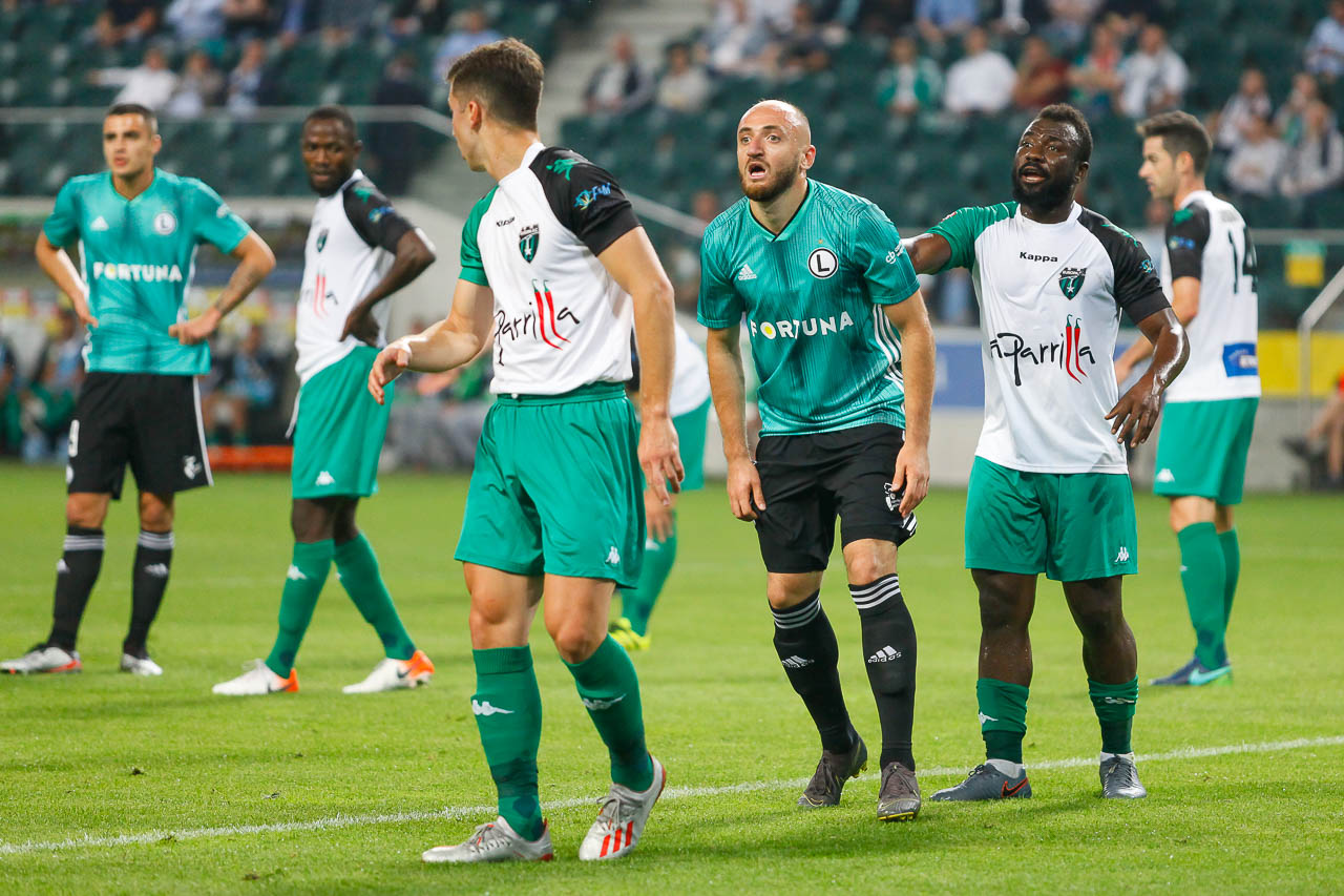 Legia Warszawa 3-0 Europa FC - fot. Piotr Galas (zdjęcie 32 z 73)