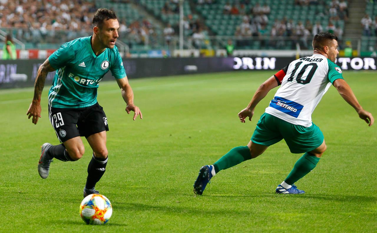 Legia Warszawa 3-0 Europa FC - fot. Piotr Galas (zdjęcie 33 z 73)