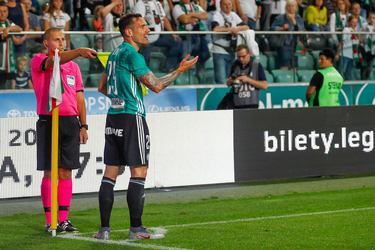 Legia Warszawa 3-0 Europa FC - fot. Piotr Galas (zdjęcie 40 z 73)