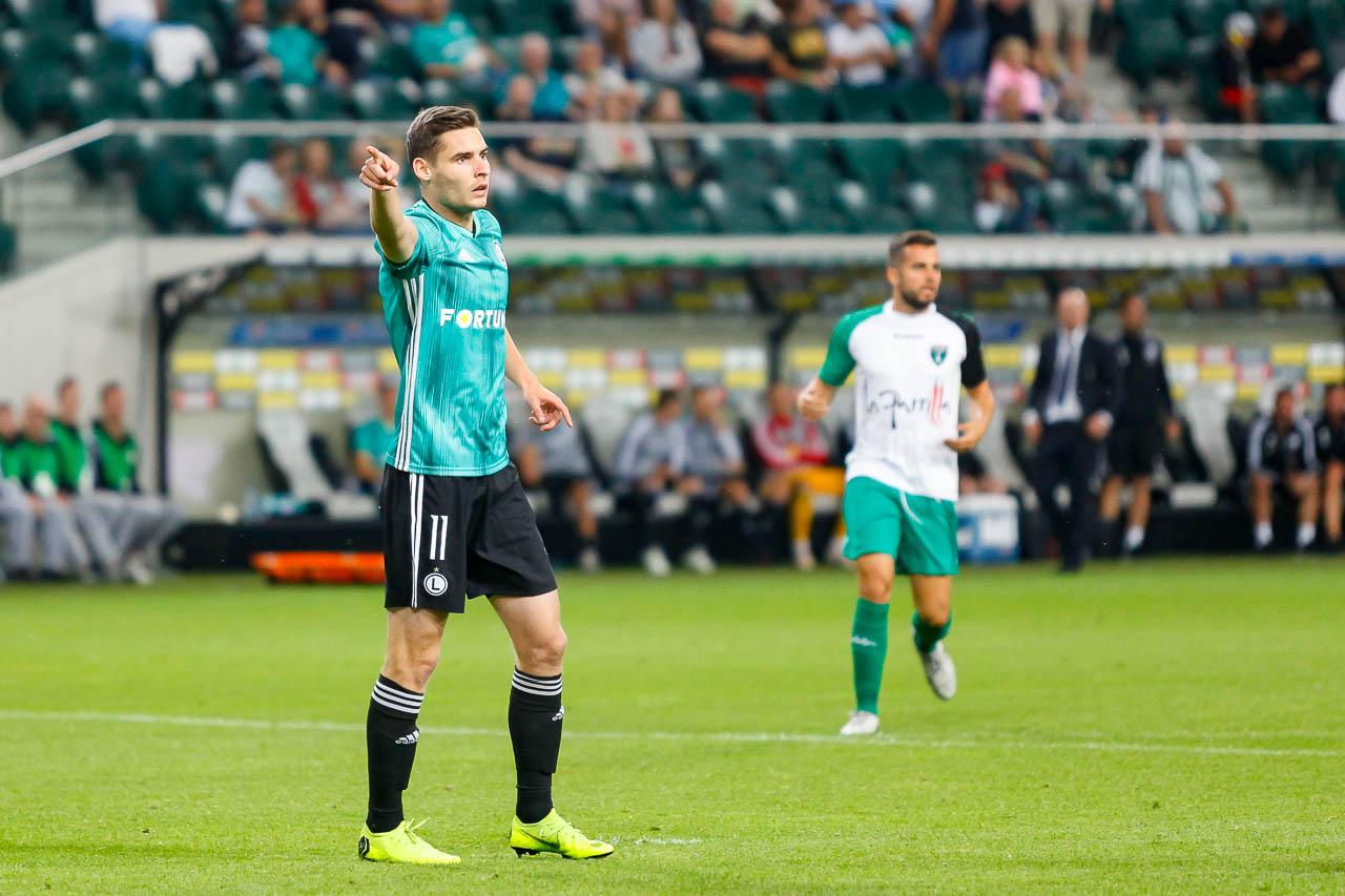 Legia Warszawa 3-0 Europa FC - fot. Piotr Galas (zdjęcie 56 z 73)