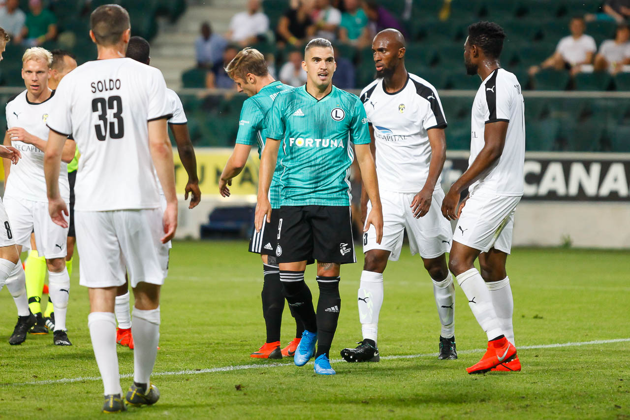 Legia Warszawa 1-0 Kuopion Palloseura - fot. Piotr Galas (zdjęcie 36 z 78)
