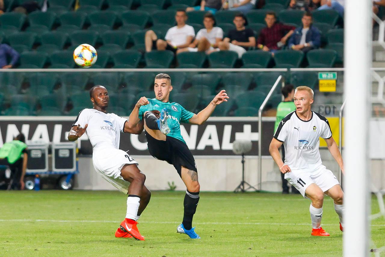 Legia Warszawa 1-0 Kuopion Palloseura - fot. Piotr Galas (zdjęcie 43 z 78)