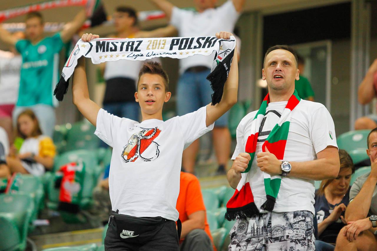Legia Warszawa 1-0 Kuopion Palloseura - fot. Piotr Galas (zdjęcie 49 z 78)