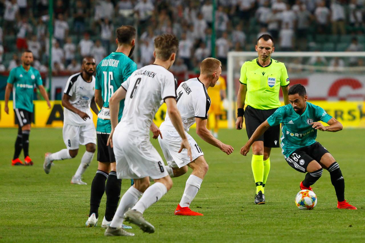 Legia Warszawa 1-0 Kuopion Palloseura - fot. Piotr Galas (zdjęcie 66 z 78)