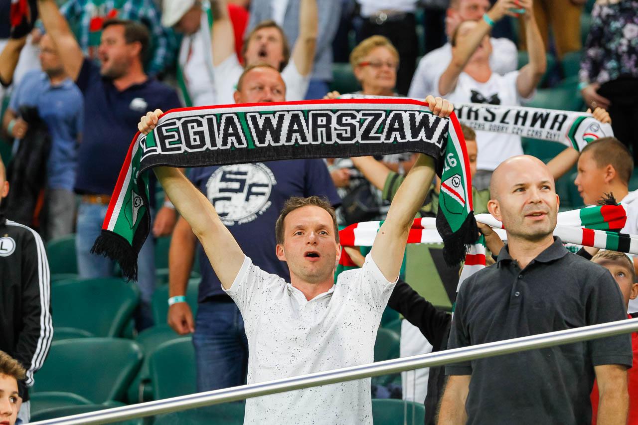 Legia Warszawa 0-0 Rangers FC - fot. Piotr Galas (zdjęcie 13 z 75)