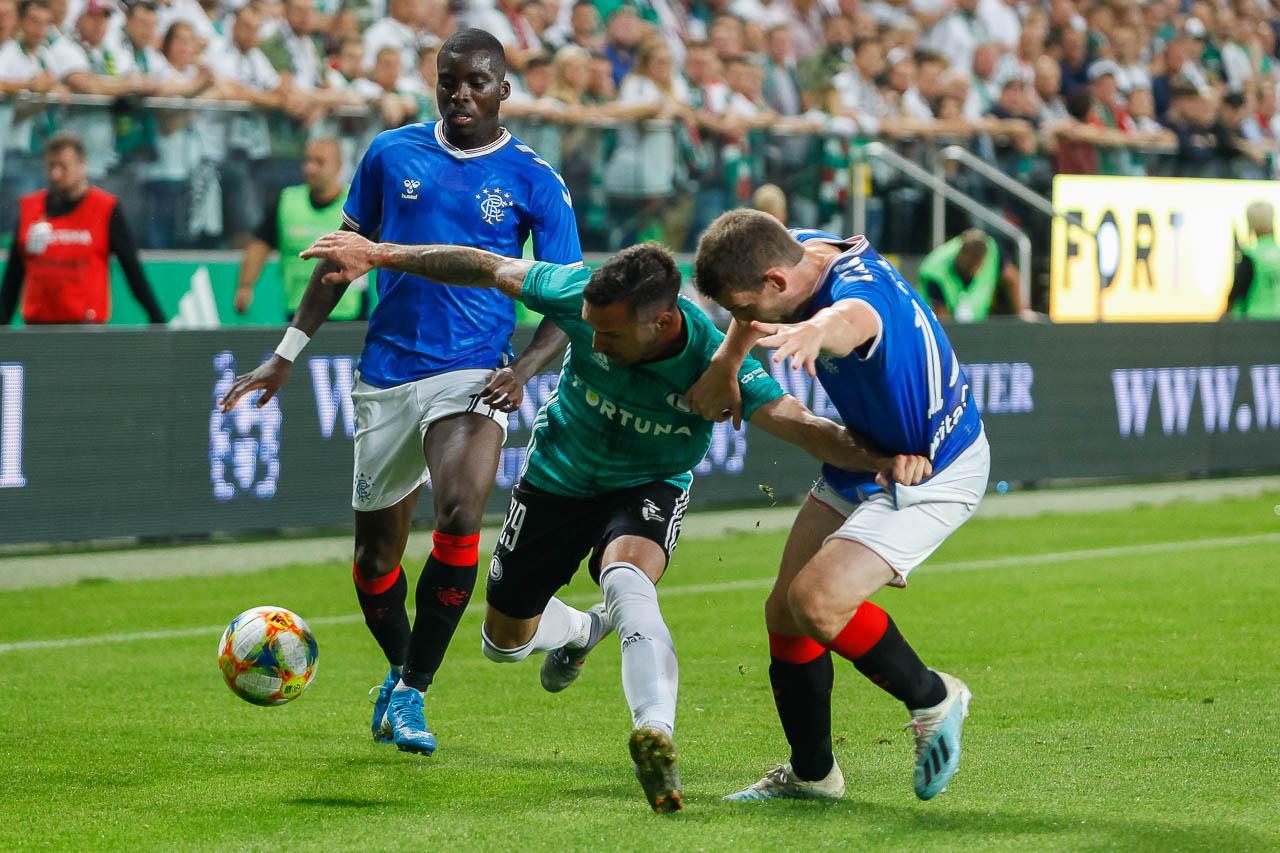 Legia Warszawa 0-0 Rangers FC - fot. Piotr Galas (zdjęcie 31 z 75)