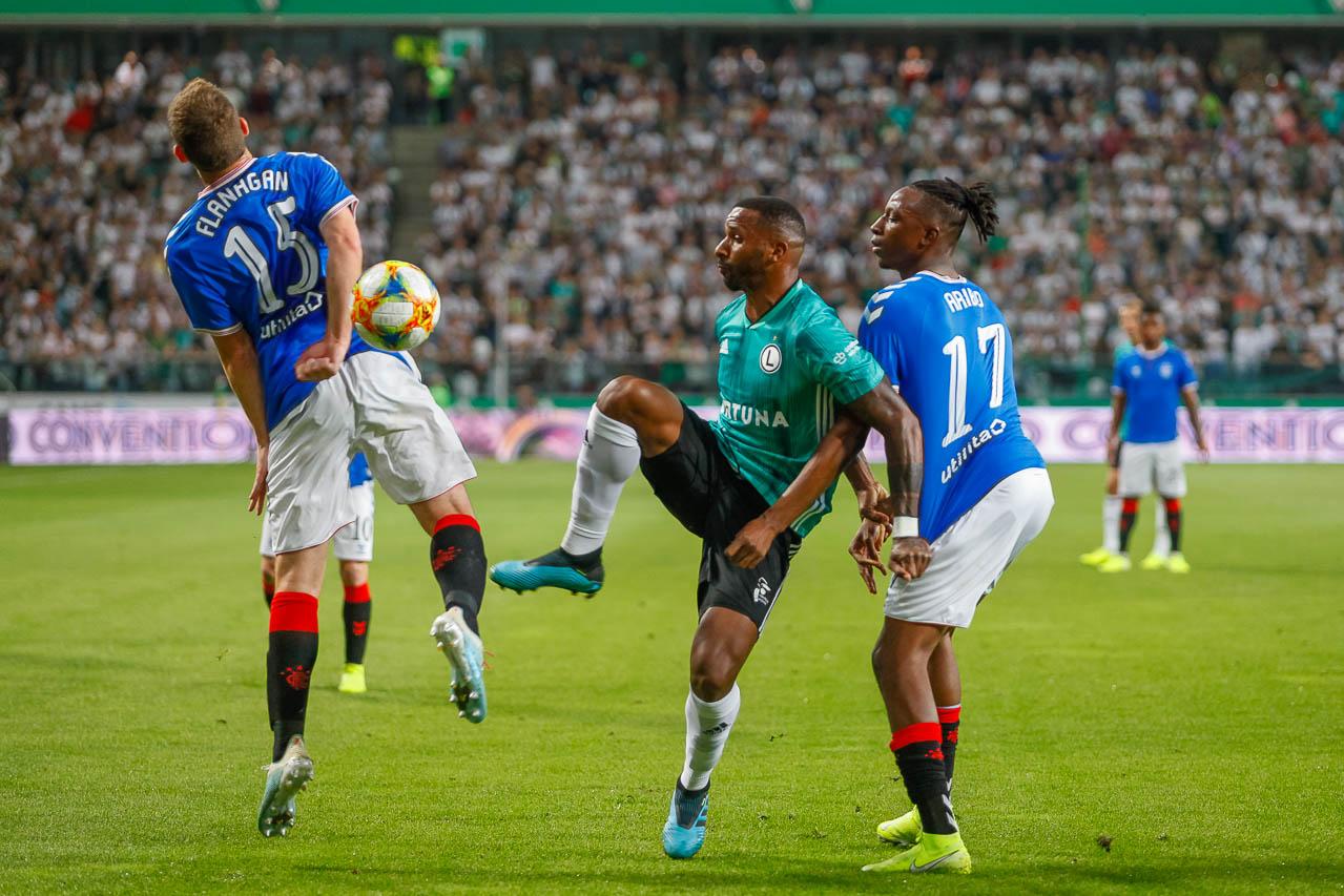 Legia Warszawa 0-0 Rangers FC - fot. Piotr Galas (zdjęcie 32 z 75)
