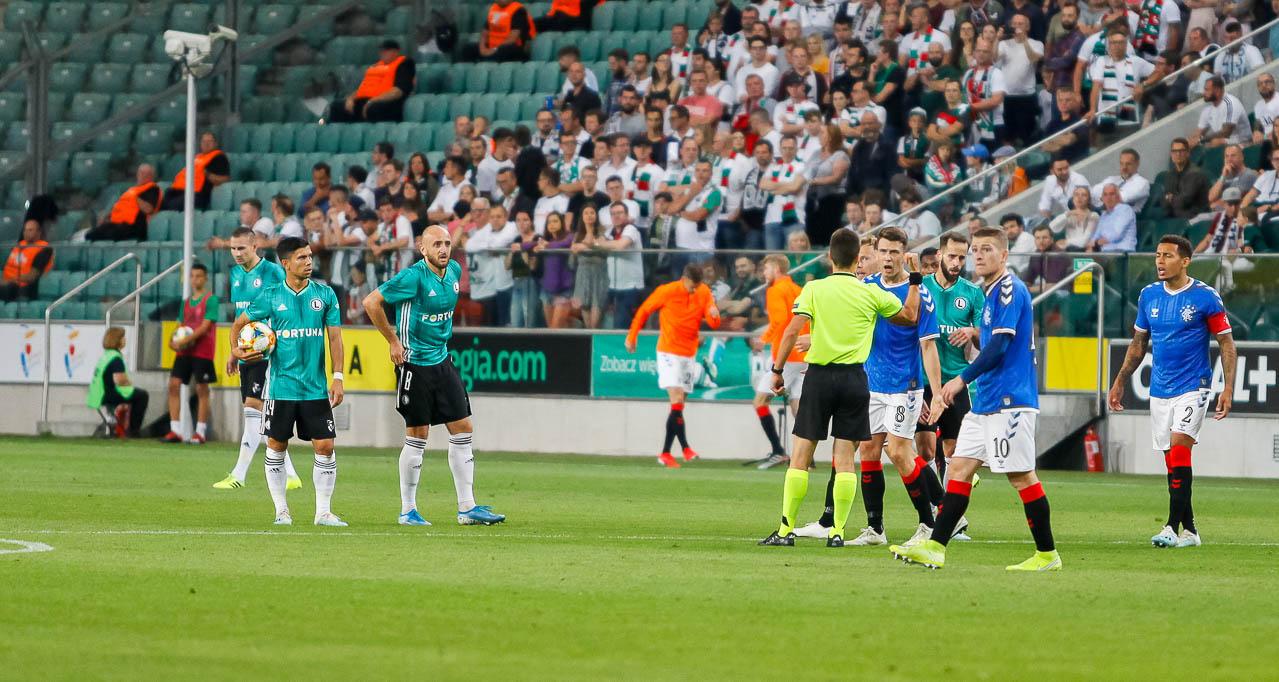 Legia Warszawa 0-0 Rangers FC - fot. Piotr Galas (zdjęcie 34 z 75)