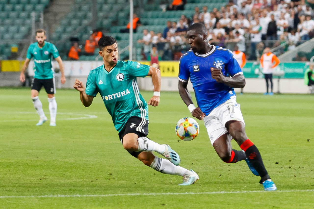 Legia Warszawa 0-0 Rangers FC - fot. Piotr Galas (zdjęcie 37 z 75)