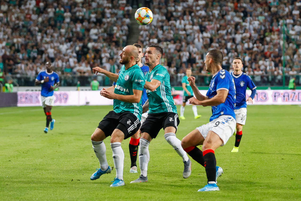 Legia Warszawa 0-0 Rangers FC - fot. Piotr Galas (zdjęcie 38 z 75)