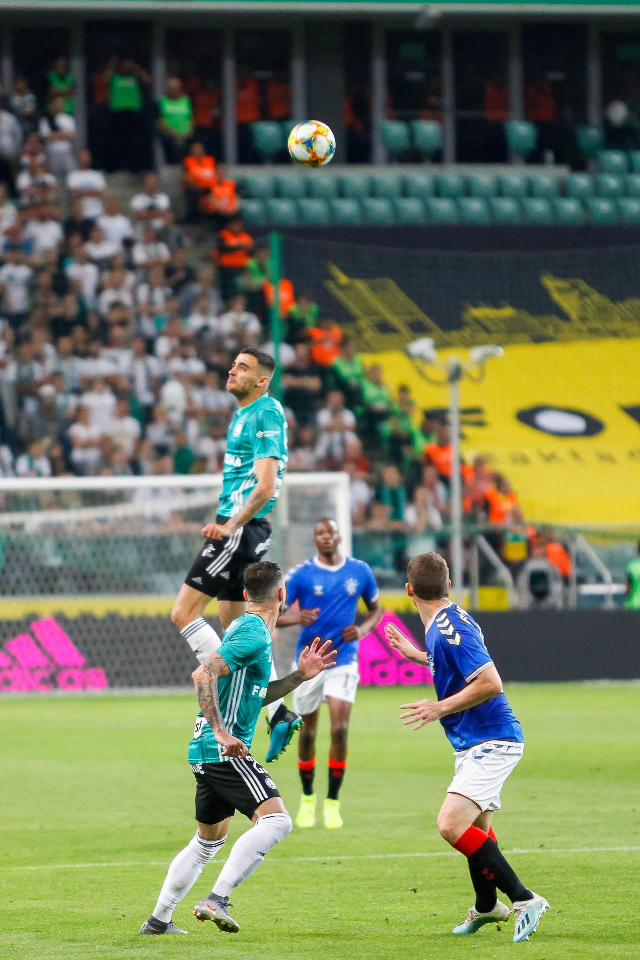 Legia Warszawa 0-0 Rangers FC - fot. Piotr Galas (zdjęcie 43 z 75)